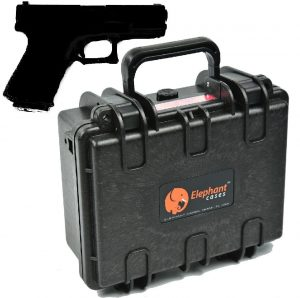 image showing Elephant E120 Handgun Pistol Hard Case, our 5th rated on the list of our affordable gun safes