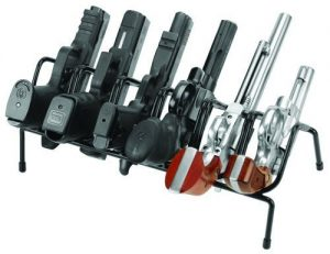 check out the features of the Lockdown Handgun Rack, 6 gun