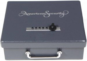 image of the American Security AMSEC PS1210HD Pistol Safe Handgun Box