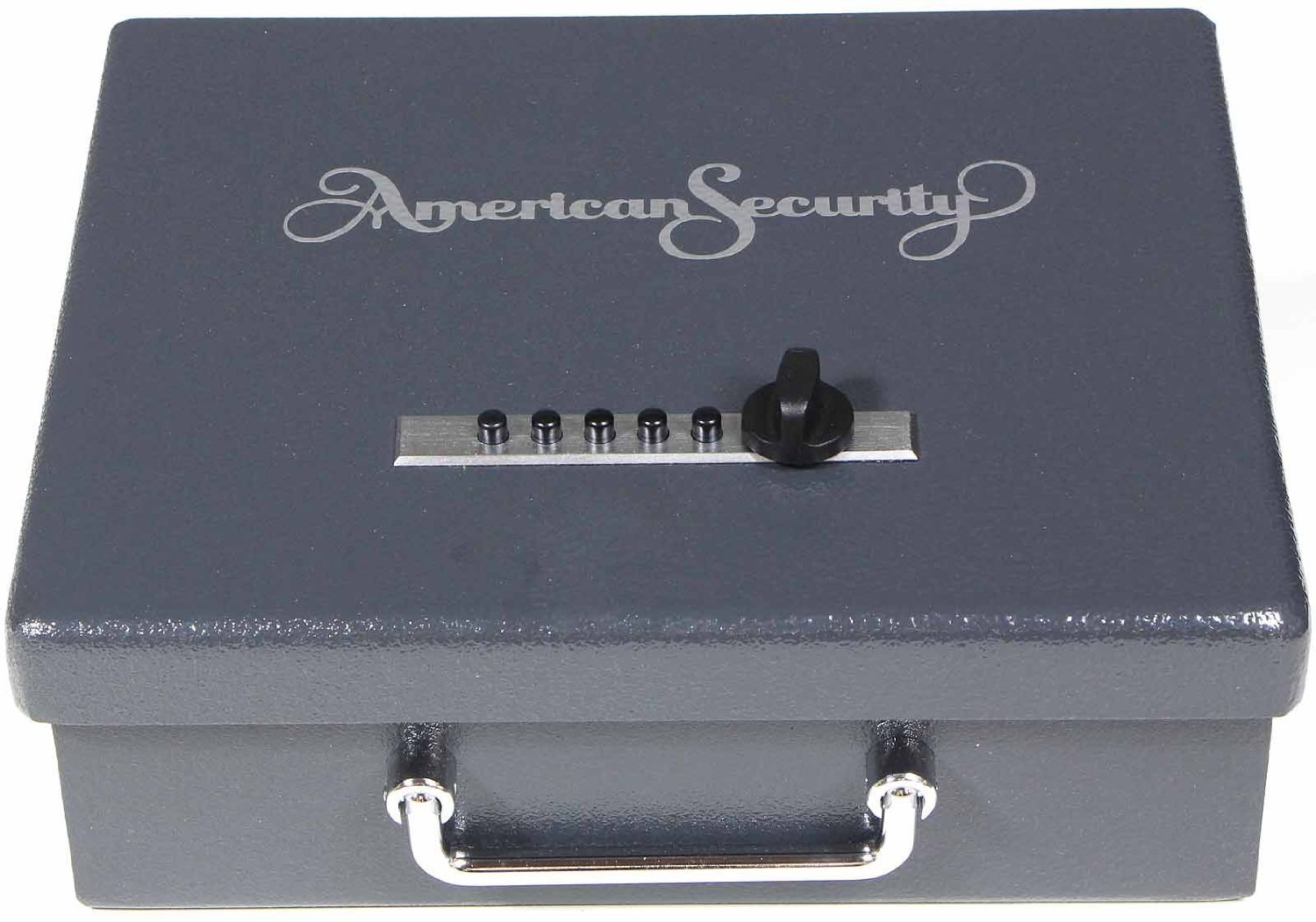 the American Security AMSEC PS1210HD Pistol Safe Handgun Box is shown