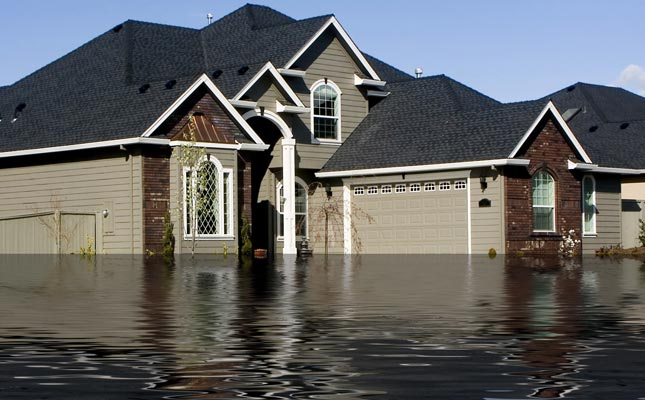 picture of a flooded house. The main reason why you need a waterproof firearm safe