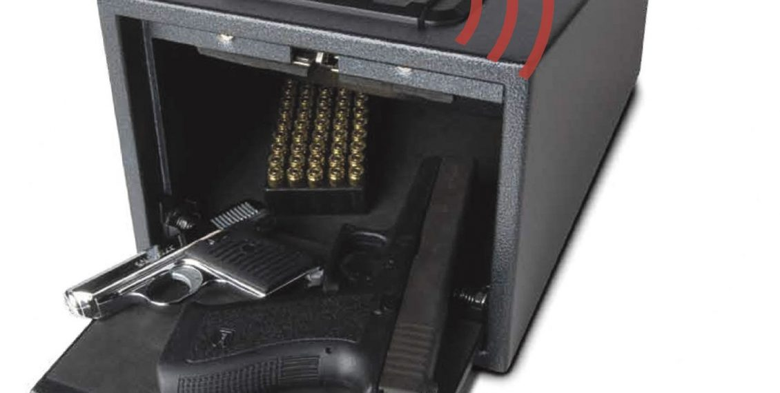 picture of the Fortress Alarming Quick Access Pistol Safe