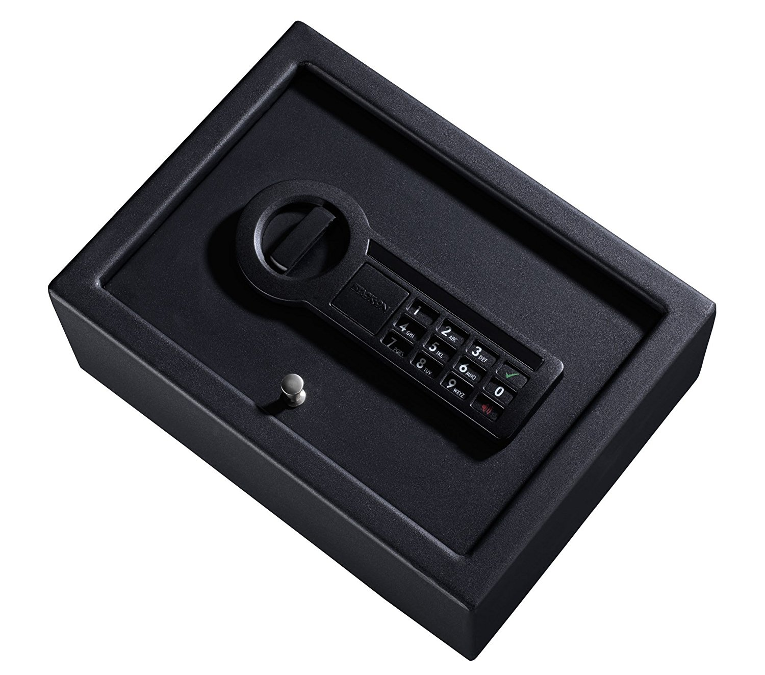 sleek design of the Stack-On PDS-1500 Drawer Safe with Electronic Lock