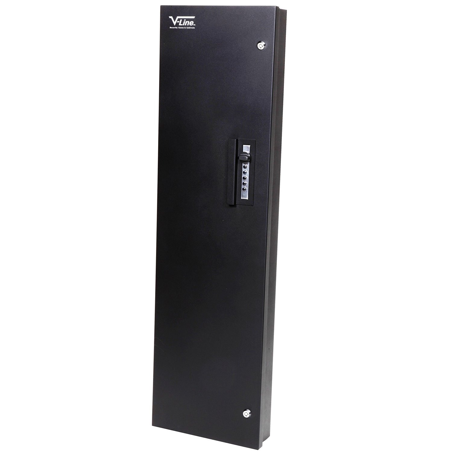 the V-Line Quick Access Keyless Long Gun Safe (Black, 42-Inch) shown here is another 2-gun rifle safe