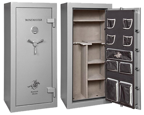 image of a Silver colored gun safe from Winchester