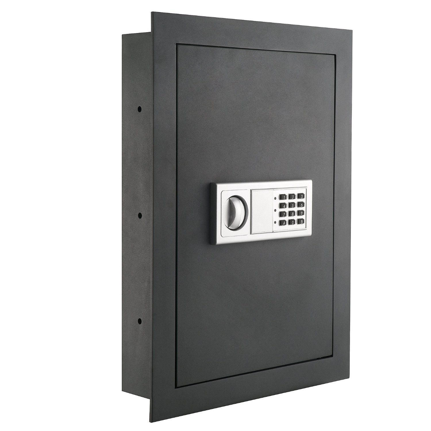 picture of Paragon 7725 Flat Superior Electronic Hidden Wall Safe for Large Jewelry or Small Handgun Security. one of the top rated hidden gun safes