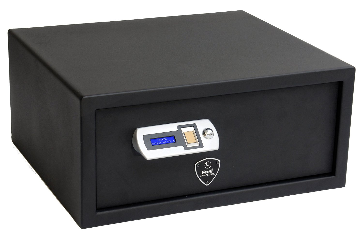the best biometric handgun safe? the Verifi Smart Safe is pictured here.