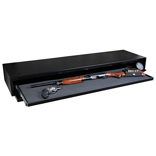 image of the Stealth Defense Vault DV652 Under Bed Gun Safe + Free 52