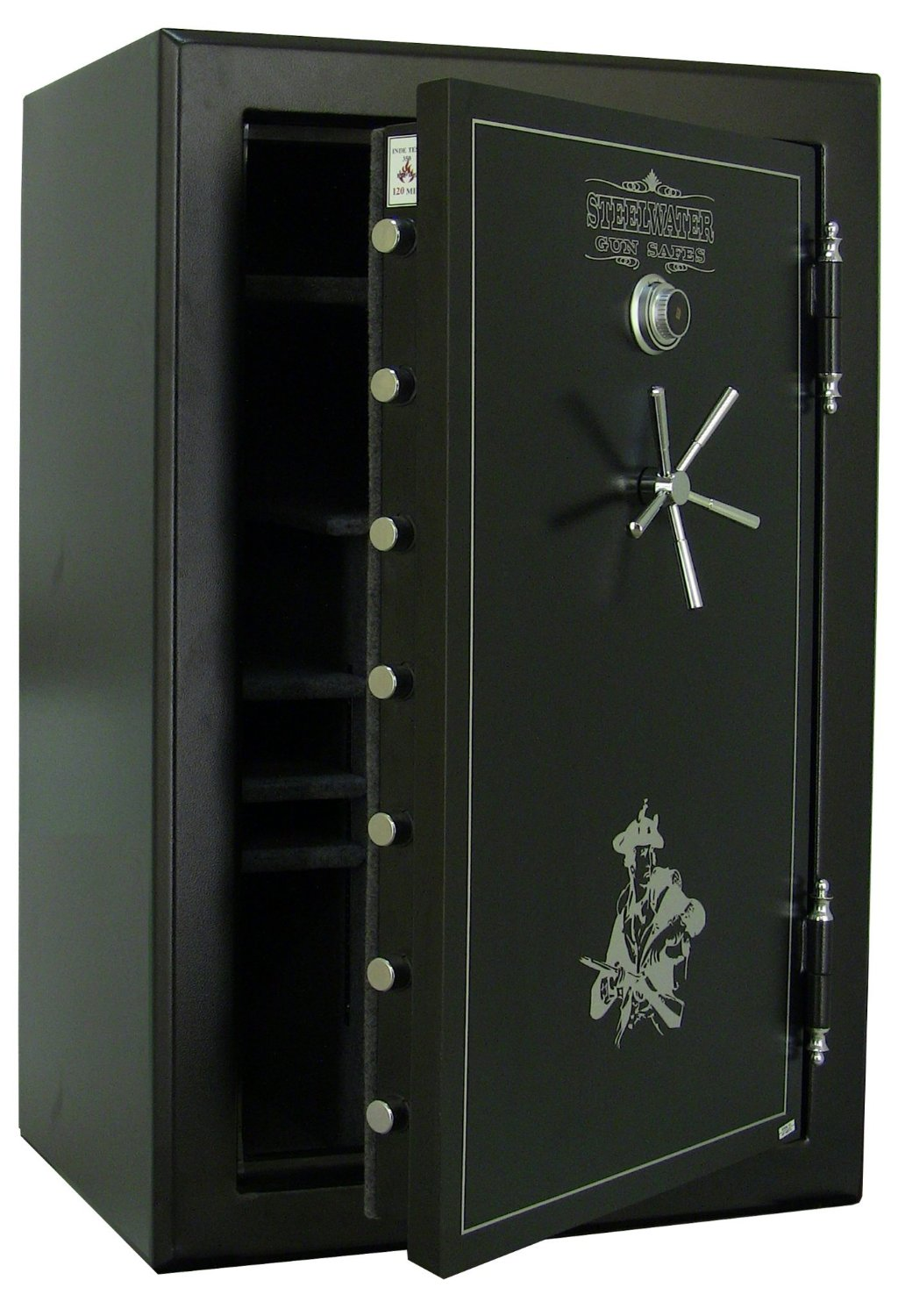 Steelwater Extreme Duty 39 Long Gun Fire Protection for 120 Minutes AMHD593924-blk. one of the best gun safe in garage models