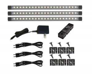 check out the Under Cabinet 21 LED Light Set. a great gun safe light kit