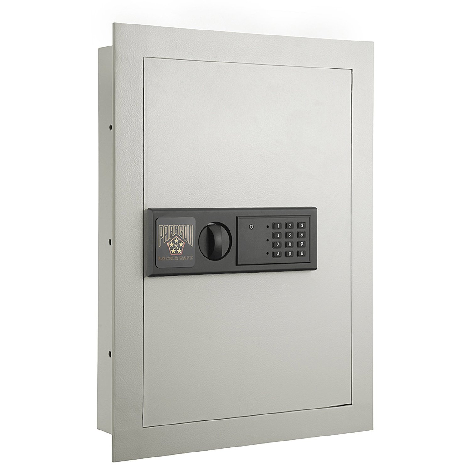 the Paragon 7750 Electronic Wall Lock Safe pictured here is another of the best wall safes for guns