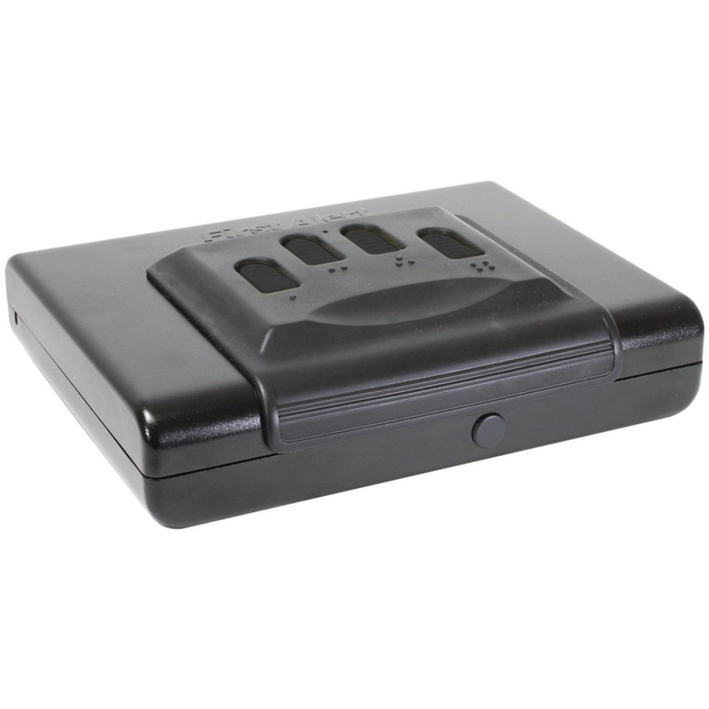 pic of the First Alert 5200DF Portable Handgun or Pistol Safe