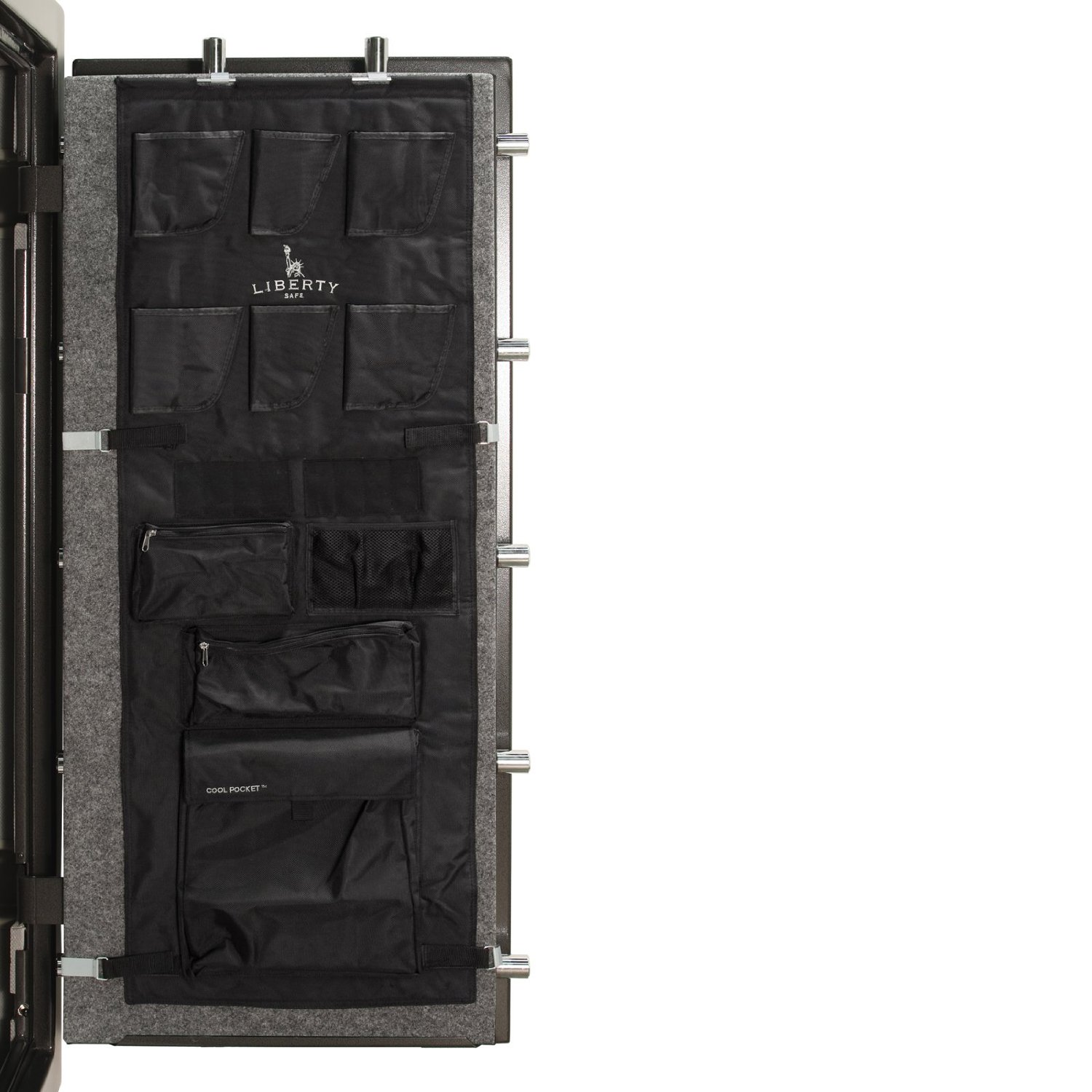 LIBERTY SAFE & SECURITY PROD 10585 24 Gun Safe Door Panel is pictured here
