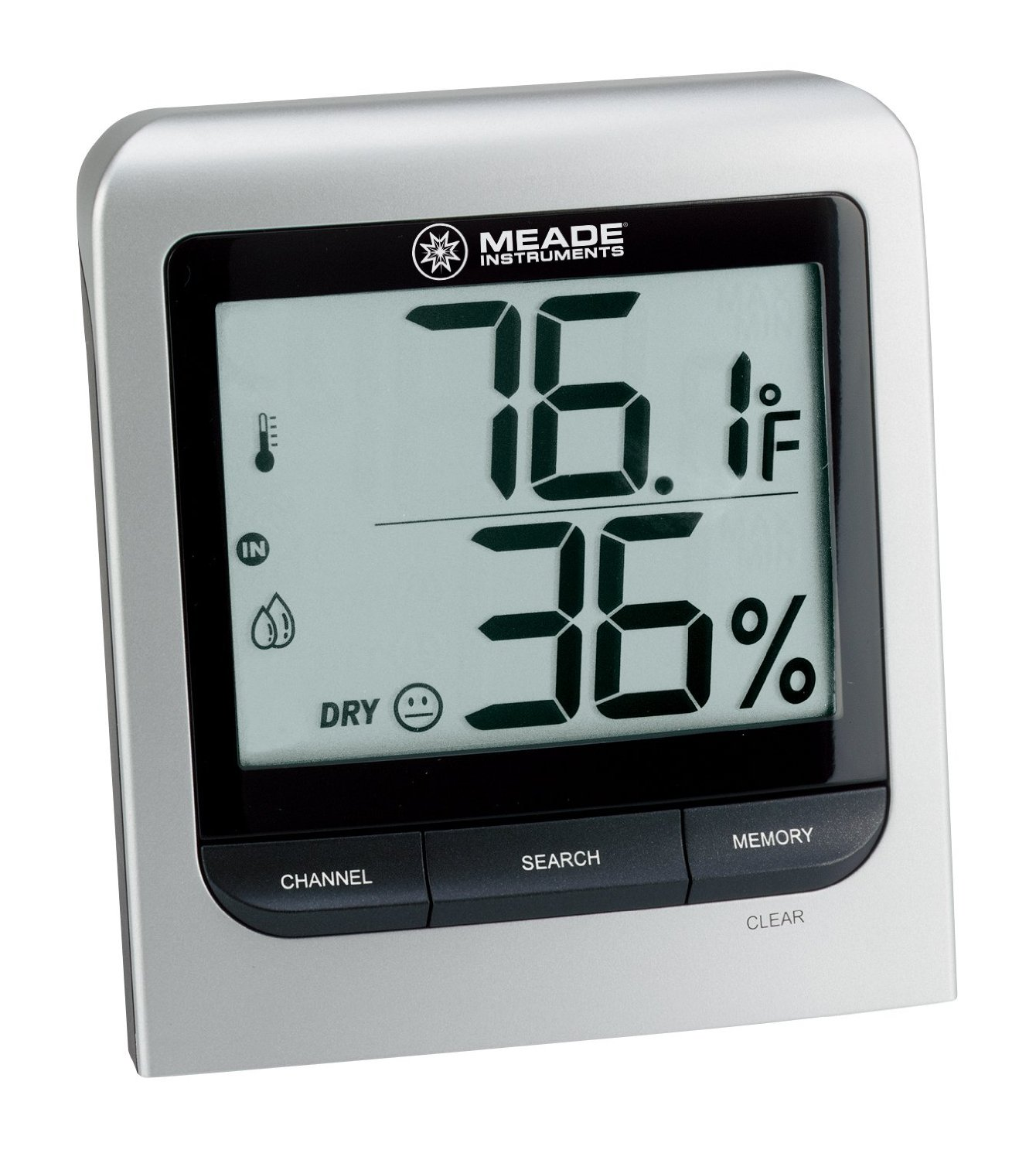 image showing the Meade Instruments TM005X-M Wireless Indoor-Outdoor Thermo Hygrometer