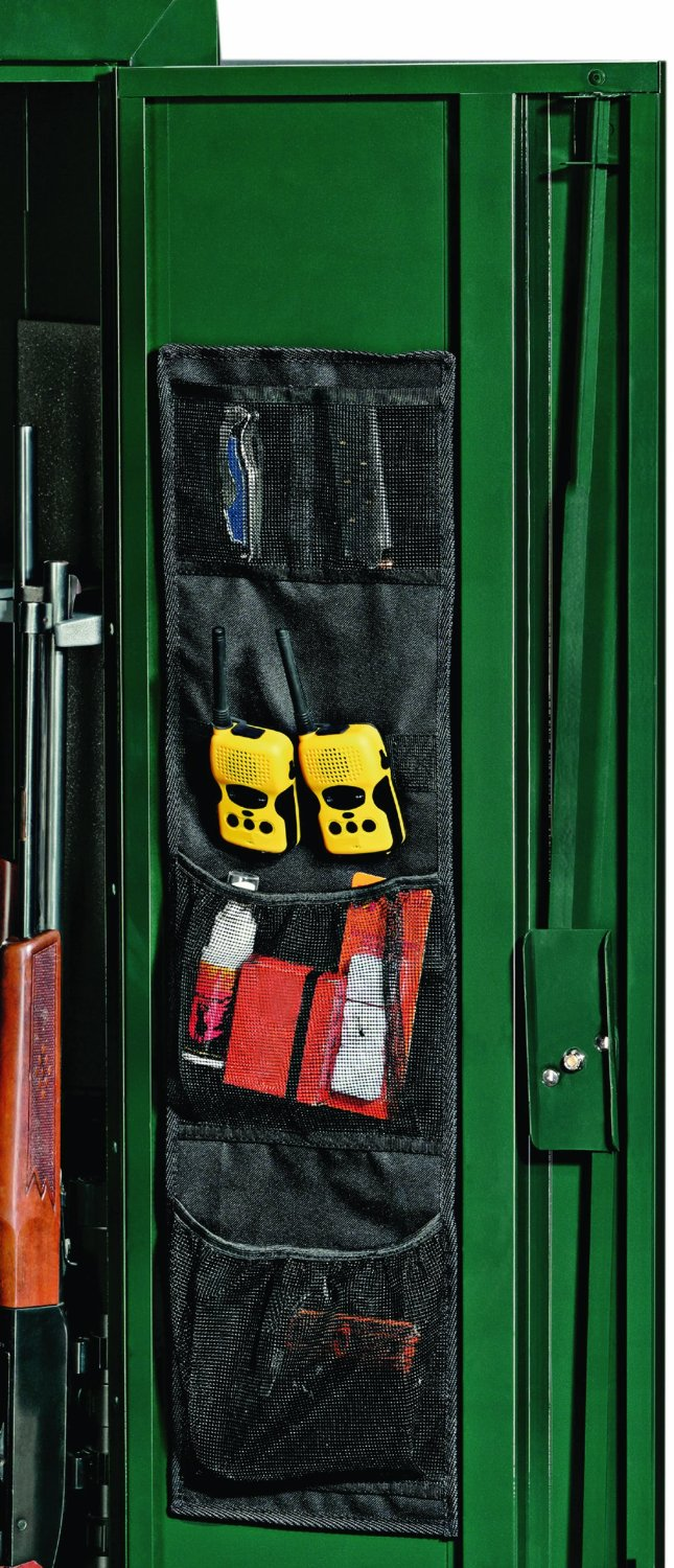 the Stack-On SPAO-148 Small Fabric Organizer is one of the best gun safe door panel organizers available