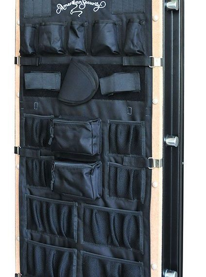 sample picture of one of the best gun safe door organizers