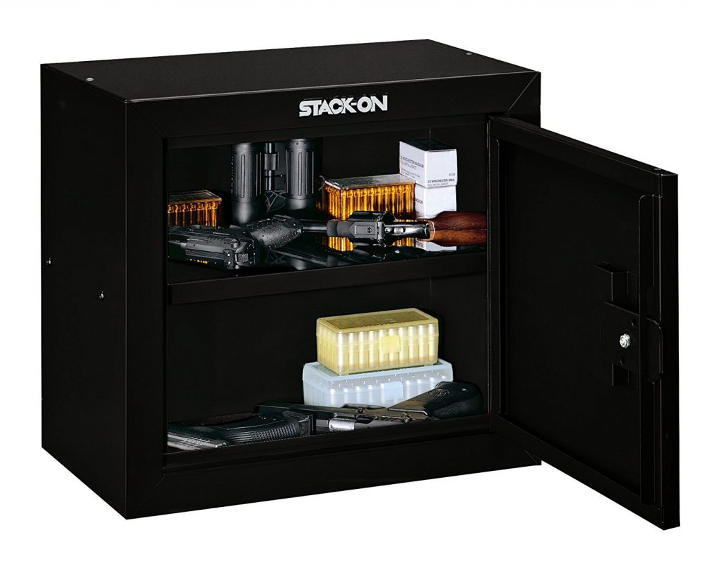 picture showing typical small gun safes for sale